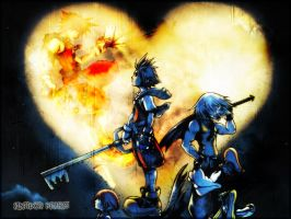 Wallpaper Kingdom heart by Creamia