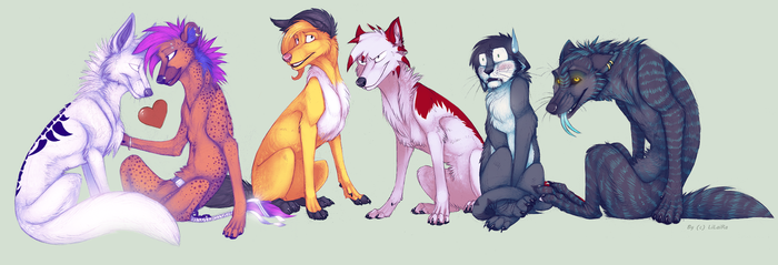 Mega Gift for my Friends by LiLaiRa