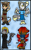 More Chibis by Hawkein