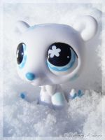 White Polar Bear by Dynamene-Dolls
