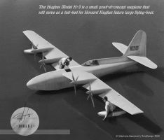 Hughes H-3 flying-boat by Bispro