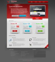 PSD templates 2 by imonedesign