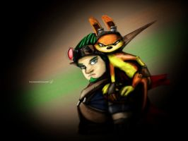 Jak and daxter by RTOneBlueWolf