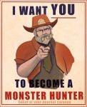 Monster Hunter propaganda by chaetoceros