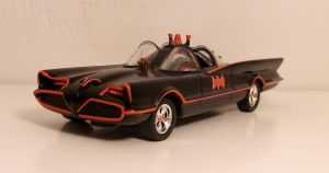 Hot Wheels 1966 Batmobile from Television Series by Firehawk73-2012