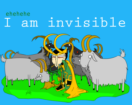 Amazing powers of invisibility by Lilyfer