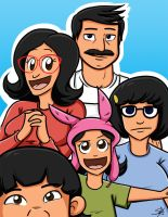 Bob's Burgers by starlinehodge