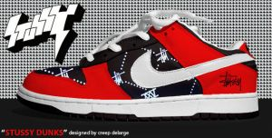 __STUSSY DUNKS__ by creepdelarge
