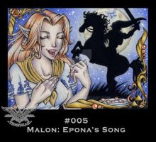 ATC No. 005 Epona's Song by 1000Dreams