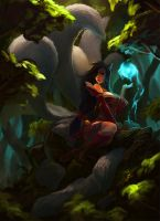 LoL Ahri step010 by 6kart