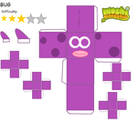 Moshi Monsters: Bug Papercraft by GoldStealthElf