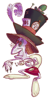 Hatter by porkcow