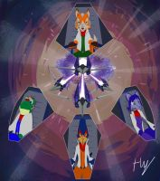 Team Star Fox, Move Out by Toxodentrail