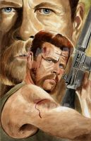 Sgt Abraham Ford -by Artist AJ Moore by GudFit