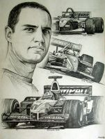 Juan Pablo Montoya Tribute by machoart