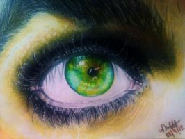 Billie Joe Armstrong eye by Vondie