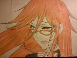 Grell Sutcliff by Acerbuss