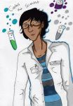 Science Man Carlos by ImRose
