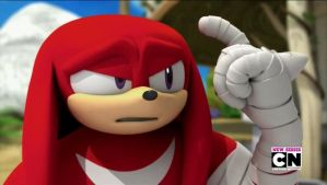 Knuckles (sonic boom) by Sonamy115