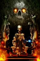 Skull Throne (The Battle is Over) by Amadalia