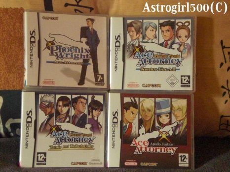 Mes jeux Ace Attorney sur DS by Astrogirl500