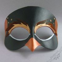 Custom Penguin Mask by Beadmask
