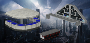 Bar counters from Mass Effect  for XNALara by Melllin