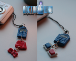 Doctor Who CELLPHONE CHARM by Fullmetal-Itachi