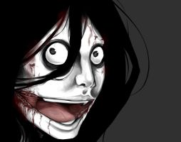 Jeff the killer: dat face by CheshireCatxAlice