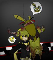 Again... WTF! SpringTrap (0_0)! by rebellion94