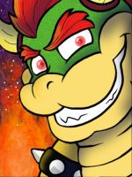 King Bowser by CoksTheDragon