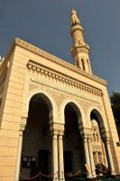 Dubai - mosque exterior 1 by wildplaces