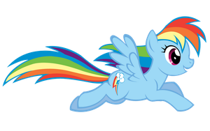 Rainbow Dash Again. by jlryan