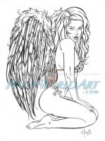 Angel by NicoleBrune