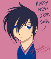 Happy New Year 2014 by lina-magnus