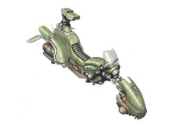 Hover Bike by flyingdebris