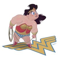Wonder Woman by nomadsdraw