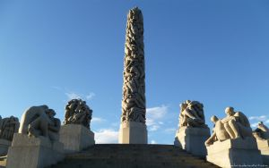 Vigeland Sculpture Park 4 by Deeo-Elaclaire