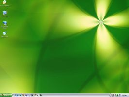 Green Desktop - 1st June 2003 by rustkill