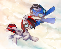 Commision 10 : Fly to the sky by Marenlicious