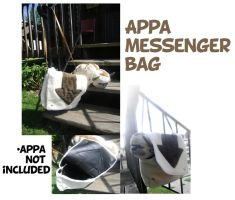 Appa messenger bag by kyoukenbyou