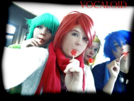 VOCALOID - Lolipops by WendySakana