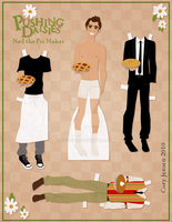 The Pie Maker- Paper Doll by Cor104
