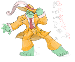 Zoot Suit Zac by flip-the-book