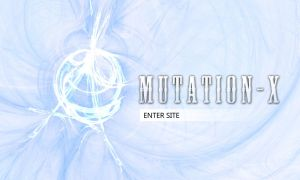 Mutation-X Website Design 2 by himanshu-kapoor
