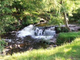 Brecon beacons exped waterfall by fraggingfreek