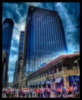 Blue Minneapolis HDR by ceasetobeme