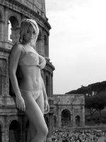 Giantess Gemma Atkinson in Rome by Accasbel