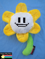 Flowey Plush by QueenBeePlush