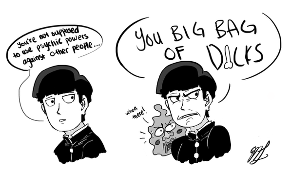 You big bag o' dicks by HyundooMandoo